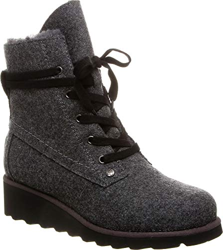 BEARPAW - Womens Krista Solids Boots, Size: 12 B(M) US, Color: Gray Ii