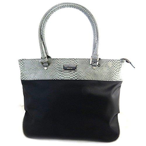 Bag 'Ted Lapidus'schwarz grau.