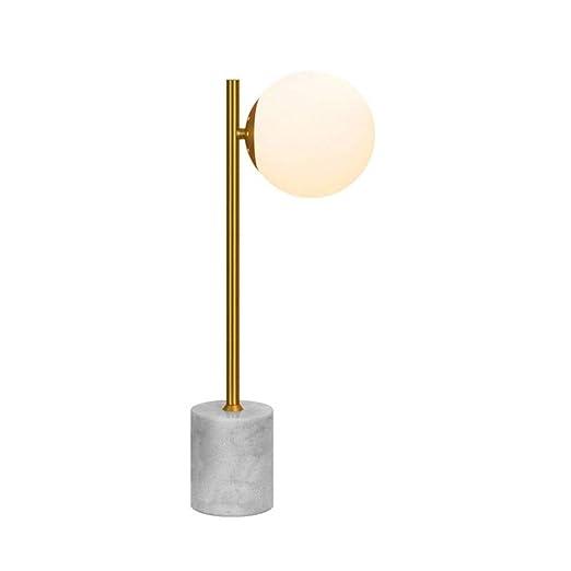 Lampara de mesa Lámpara de mesilla de noche E14 Pantalla de ...