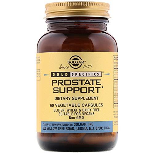 Solgar - Prostate Support, 60 Vegetable Capsules
