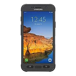 Samsung Galaxy S7 Active SM-G891A 32GB AT&T Locked – Titanium Gray (Renewed)