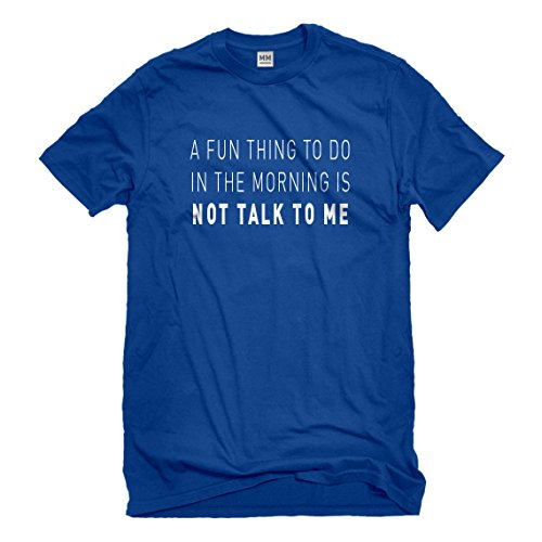 Mens Not Talk to Me XX-Large Royal Blue - 3119 Rb