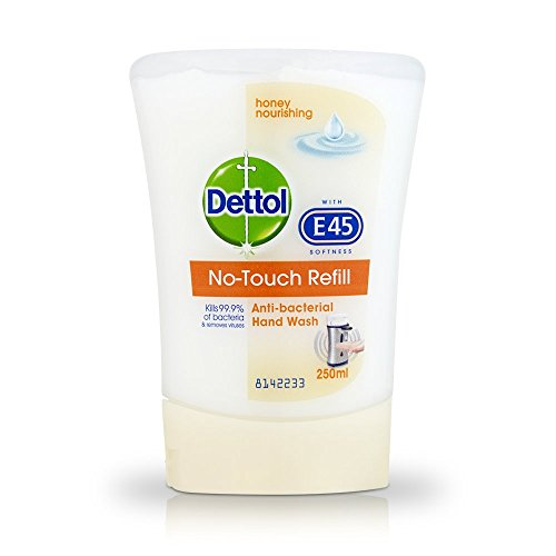 - Dettol No-Touch Refill Anti-Bacterial Hand Wash, Honey Nourishing 250 ml - Pack of 5