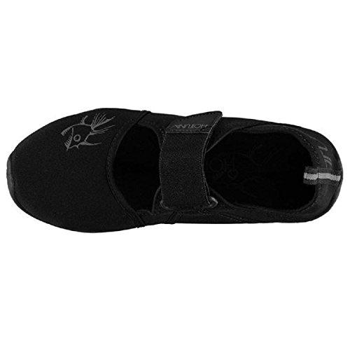 Hot Tuna - Escapines para hombre Black Sandals
