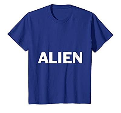 Alien Lazy Halloween Costume Funny T Shirt