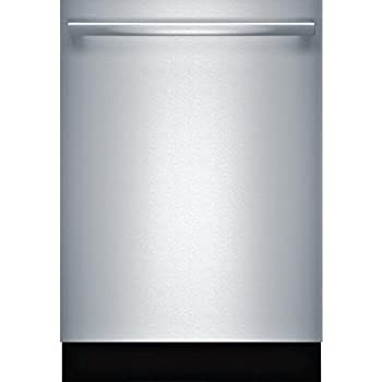 bosch shx863wd5n 300 series built in dishwasher with 5 wash cycles, 16  place settings, 3rd rack, speedperfect, rackmatic in stainless steel