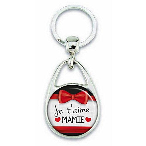 Je Idée Clés T'aime Mamie Cadeau Porte Métal En Angora R4qWI