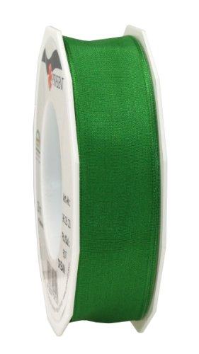 Prasent 25 mm Wired Dream Ribbon, Golf Green