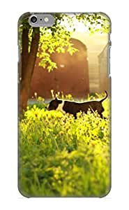 Awesome YoFunx-5072-lzytX QueenVictory Defender Tpu Hard Case Cover For Iphone 6 Plus- Animal Dog