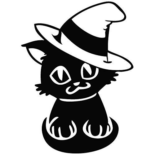 Cat Halloween Costume - Cartoon Decal Vinyl Car Wall Laptop Cellphone Sticker by Leon Online Box]()