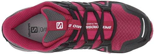 Salomon Damen Speedcross Vario 2 W Kletterschuhe Violett (Sangria/Magnet/Beet Red)