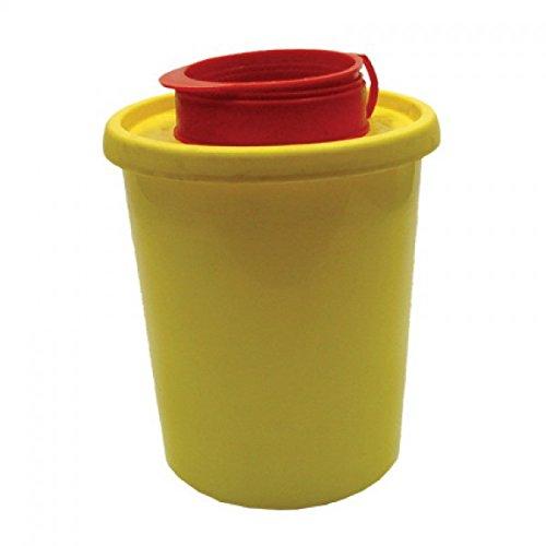 Kanülenabwurfbehälter 0,5 L Abwurfbehälter Kanülenbox Nadelbox Kanülensammler
