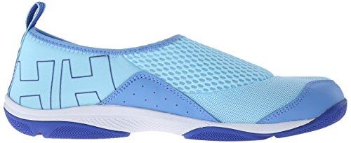 Helly Hansen W Watermoc 2 Zapatillas de deporte exterior, Mujer Azul (974 Light Aqua / Spring Blue)