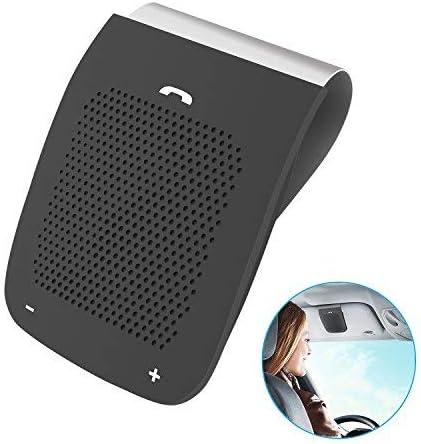 APEKX Hands-Free Bluetooth in-car Speakerphone Wireless Car Kits Sun Visor Speaker with Mic