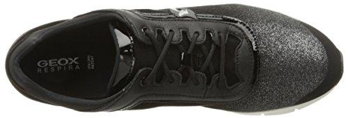 Basket Mod blackc9999 Geox Basket Sukie Couleur Noir B le D Marque Noir Schwarz wnIY7FIq