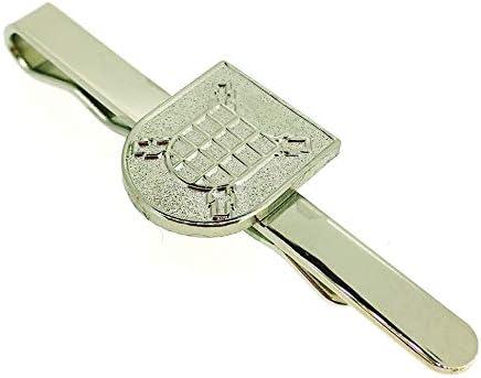 Gemelolandia Pasador de Corbata Escudo del Tercio del Duque de Alba Segundo de la Legión Color Acero: Amazon.es: Ropa y accesorios