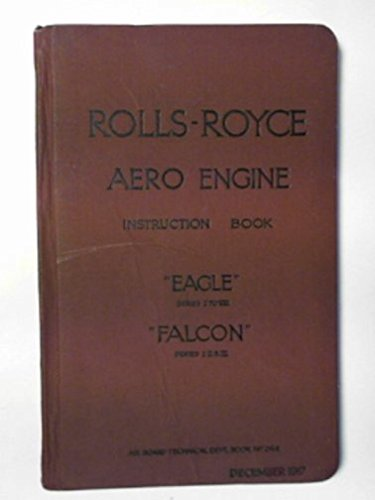 Instructions for Rolls-Royce aero engines: