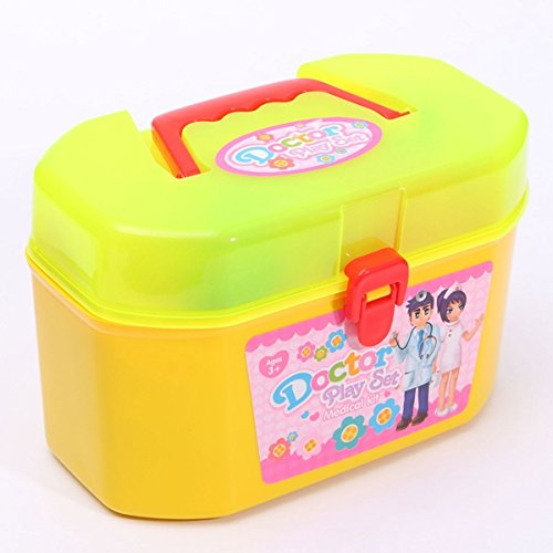 Paleo 30pcs Kinder Doktor Nurse Medical Role Play Tasche Baby Kit Educational Spielzeug Set