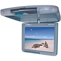 TKO BH-DVD10.4 10.4-Inch TFT Drop down Roof Mount Car Monitor with Built-In DVD