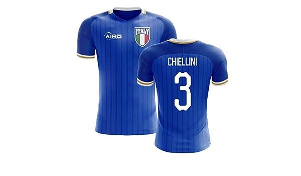 b52d2e2278f Amazon.com   Airosportswear 2018-2019 Italy Home Concept Football Soccer T-Shirt  Jersey (Giorgio Chiellini 3)   Sports   Outdoors