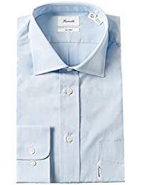 Faconnable Classic Fit Dress Shirt, Shirt - 43 Neck - 17 Sleeve - 34-35