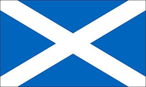 (American Vinyl Scotland Flag Sticker (Scottish st Andrews Cross))