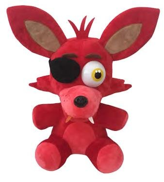 1pcs Five Nights At Freddys 4 FNAF FOXY Plush Toy Doll SIZE: 12 inch (