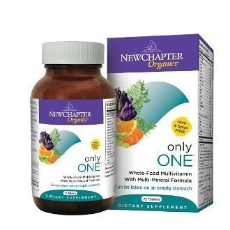 New Chapter Only One Multivitamin, 72 Tab (3 pack)