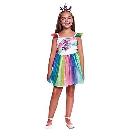 Disfraz Unicornio Tutú Arco Iris Niña (5-6 años) (+ Tallas ...