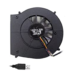 Coolerguys 120x25mm Rear Exhaust Blower Fan 5 Volt with USB Connector
