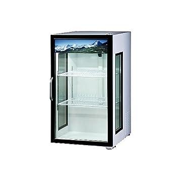 Attrayant Blue Air BAGR7 Merchandiser Glass Swing Door Counter Top Refrigerator