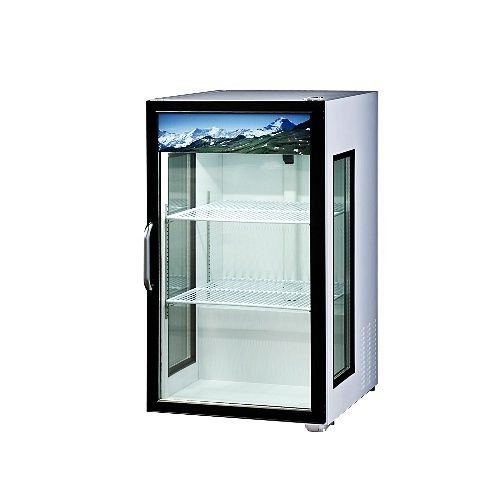 Blue Air BAGR7 Merchandiser Glass Swing Door Counter Top Refrigerator