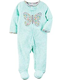 Carter's Baby Girls' Floral Butterfly Footie