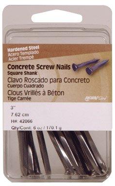 Hillman Concrete Screw Nails 3