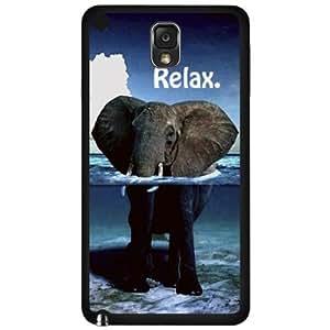 Relaxing Elephant Hard Snap On Case (Galaxy Note 3 III)