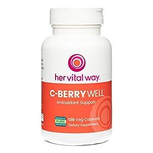 C-BerryWell Non-GMO Vitamin C Plus Berry Polyphenols Antioxidant Support