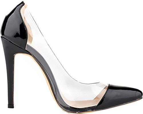 Femme Noir Compensées 36 Sandales Nice 5 Noir Find vtwSq6S