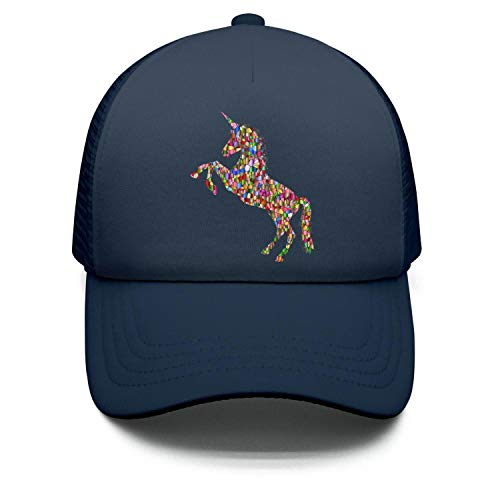 Price comparison product image Galaxy Unicorn Snapback Hats Printed Trucker Hat