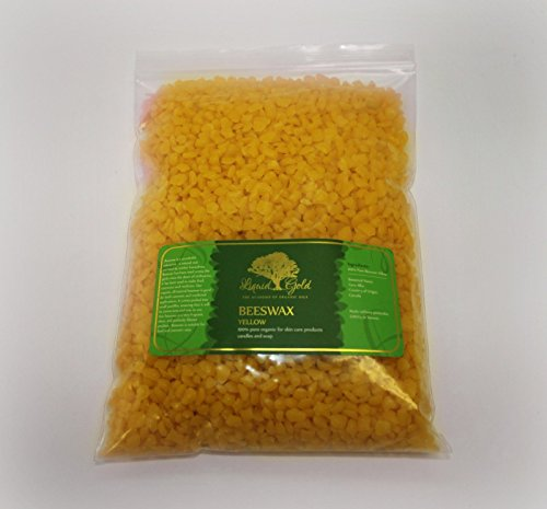 12 Pounds Premium Yellow Beeswax Organic Pastilles 100% Natural Pure by Liquid Gold