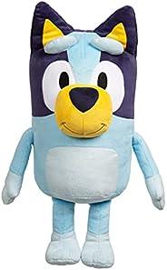 "Bluey 18"" Stuffed Animal - Playtime & Naptime Companion   Jumbo Size, Soft Deluxe Materials - Huggabl"
