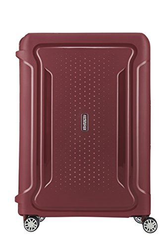 American Tourister Checked-Medium, Red