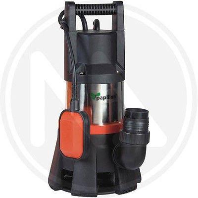Pumpe elektrische Tauchpumpe Inox 1300W-Fliege–Mod. Angler Schmutzwasser