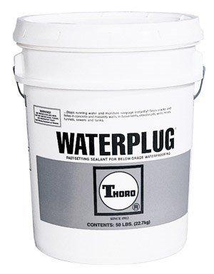 Thoro T1663 Waterplug Hydraulic Cement, 5 Gallon
