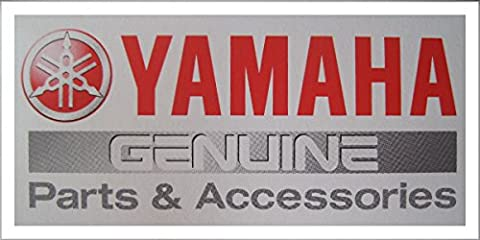 FRONT RACING LICENSE PLATE, Genuine Yamaha OEM Watercraft Part, [rp]