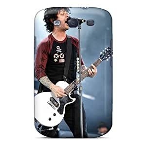 Durable Hard Phone Cases For Samsung Galaxy S3 With Allow Personal Design Beautiful Green Day Band Pattern KevinCormack