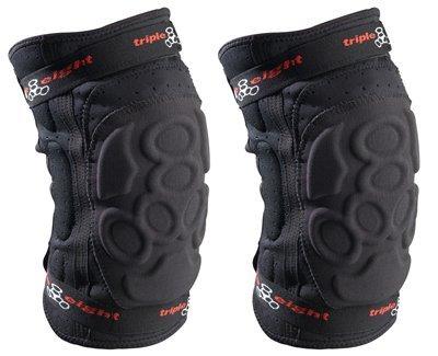 Triple Eight ExoSkin Knee Pad (Black, Large)