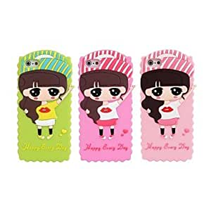 JOE Small Greek Hat Silicone Soft Case for iPhone 5/5S(Assorted Colors)