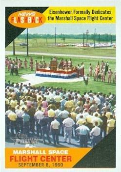 marshall-space-flight-center-trading-card-president-eisenhower-dedicates-2009-topps-heritage-news-fl