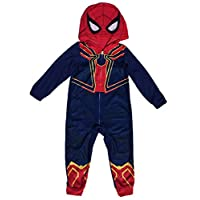Avengers Spider-Man Iron Spider Boys Union Suit Pajama