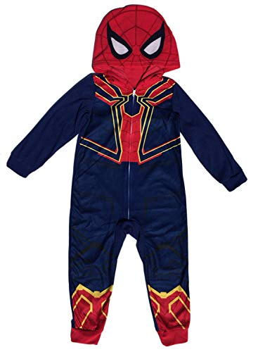 Avengers Spider-Man Iron Spider Boys Union Suit Pajama